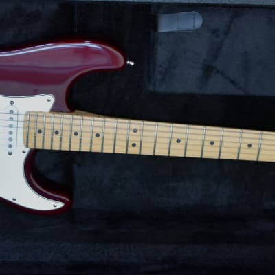 Fender 40th Anniversary American Standard Stratocaster 1994 Wine Red for sale