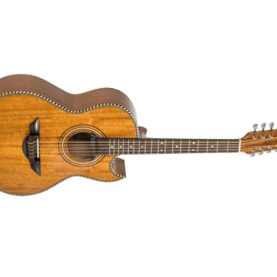 H. Jimenez El Esta'ndar El Estandar Acoustic-Electric Bajo Quinto Natural Mahogany for sale