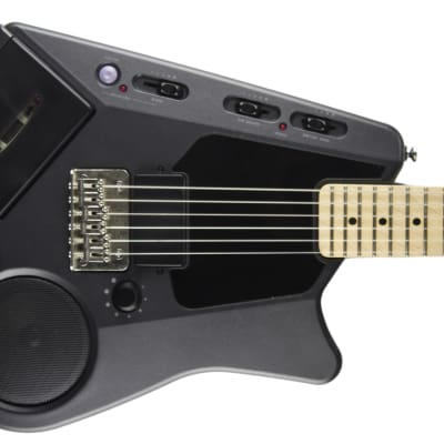 Casio Fujigen EG-5 1984 Dark Grey Guitar with a cassette player for sale