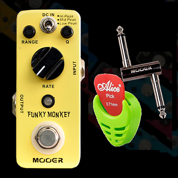 mooer audio funky monkey autowah guitar effect pedal pc z reverb. Black Bedroom Furniture Sets. Home Design Ideas
