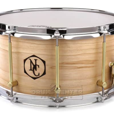 Noble And Cooley Solid Ply Maple Snare Drum 14x7