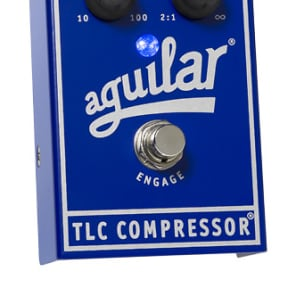 Aguilar TLC Bass Compressor Effect Pedal for sale