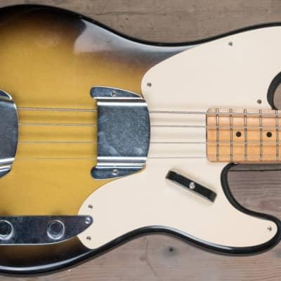 Fender CS Master Built 55 Precision Bass Sunburst for sale