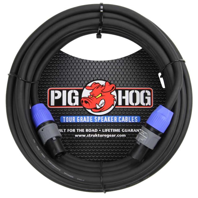 Pig Hog PHSC5SPK Speakon Speaker Cable - 5ft Black image