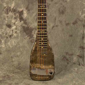 Dickerson 6 String Magnatone Style Lap Steel 1944 Grey Pearl for sale