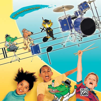 Alfred Music Kid's Drumset Course with DVD