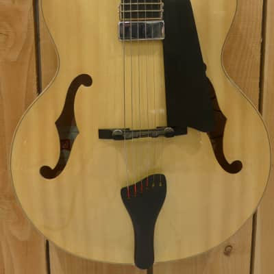 Nicolas Greaux Archtop 2013 Natural Gloss