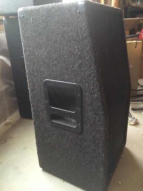 carvin 2x12 212 angled 1 2 stack speaker cabinet dark grey reverb. Black Bedroom Furniture Sets. Home Design Ideas