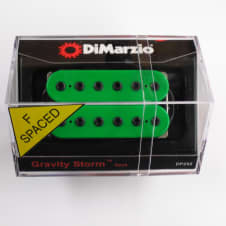 DiMarzio F-spaced Gravity Storm Neck Green W/Black Poles DP 252