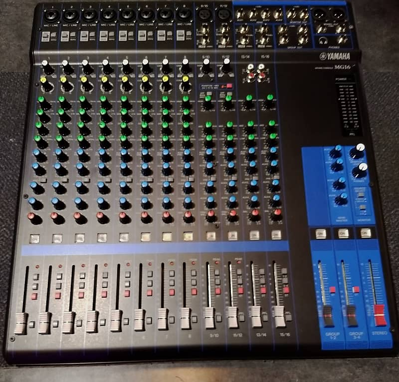Store Demo | Yamaha MG16 16-Channel Pro Audio Mixing Console image