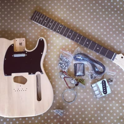Sound Smith Tele Electric Guitar DIY Kit  2020 natural for sale
