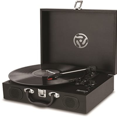 Numark - PT01 Touring - Classically-styled Suitcase Turntable with USB Port
