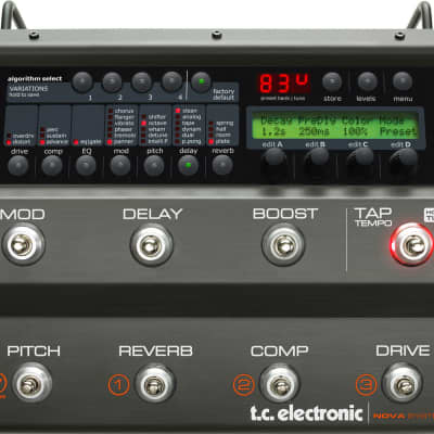 Tc Electronic Nova System Pedaliera Multieffetto Per Chitarra for sale