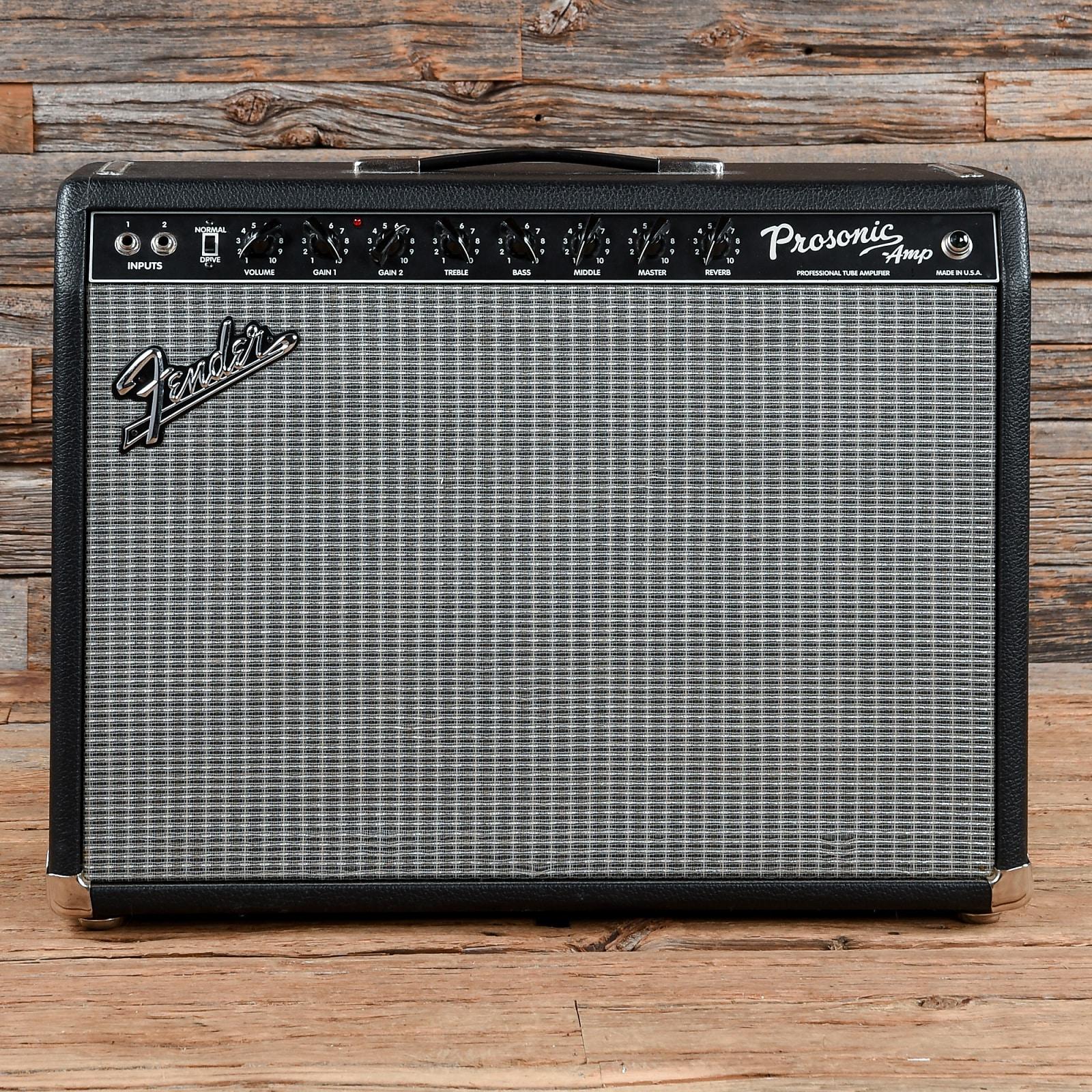 Fender Prosonic Amp 60w 2x10 Combo 1990s S841 Bass Amplifier