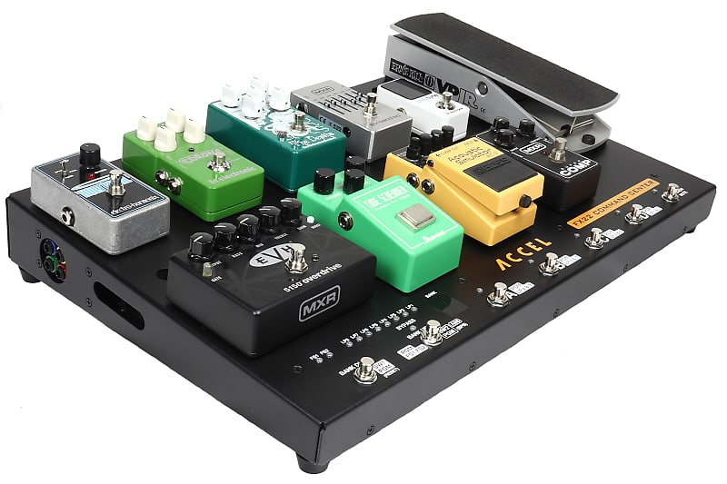 Fx22 Command Center Pedal Board  Power Source 8  Compact