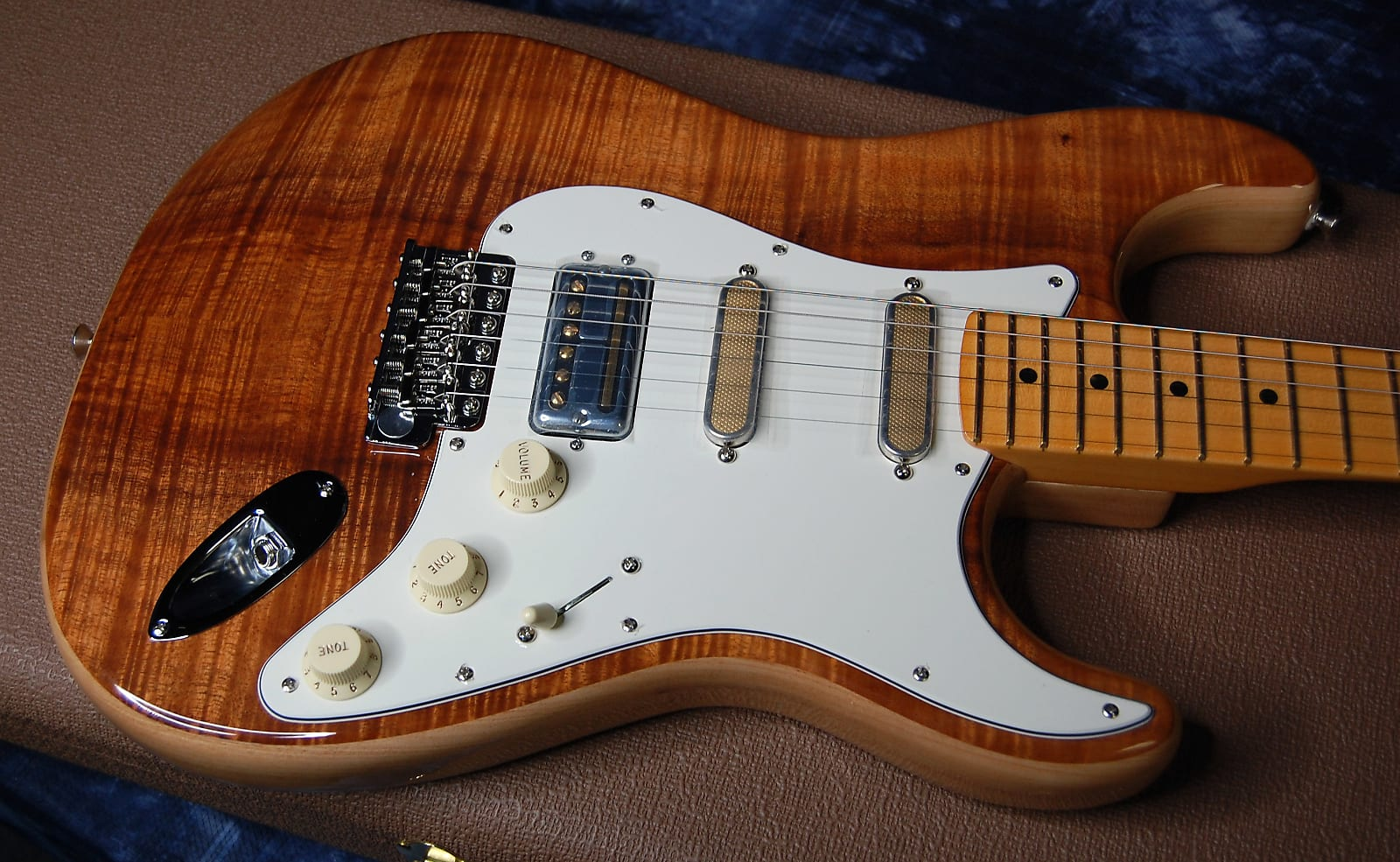 MINTY! Fender Rarities USA Flame Koa Top Stratocaster - Authorized Dealer - SAVE BIG!