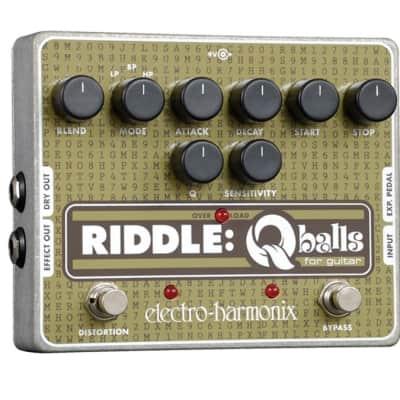 New Electro-Harmonix EHX Riddle Q Balls Envelope Filter Guitar Effects Pedal!