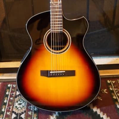 Andrew White Freja 112 3TS Acoustic Electric 2019 3 Tone Sunburst for sale