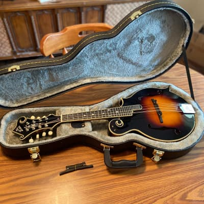 The Loar LM-600 F-Style Mandolin, with Cumberland Acoustic Bridge for sale