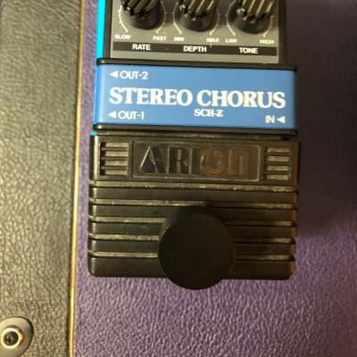 Arion SCH-Z Chorus Pedal w/True bypass mod for sale