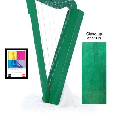 Sharpsicle Harp w/ Book & DVD - Green