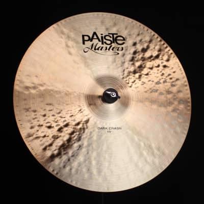 "Paiste 19"" Masters Dark Crash - 1524g (video demo)"