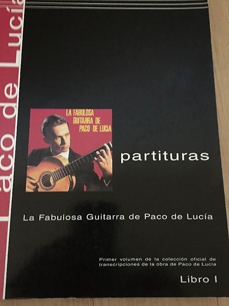 Mel Bay Paco de Lucia - Guitar Tab Book - Sheet Music -to La Fabulousa  Guitarra record 2004