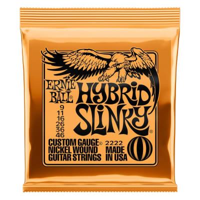 Ernie Ball 2222 Hybrid Slinky Nickel Wound Electric Guitar Strings