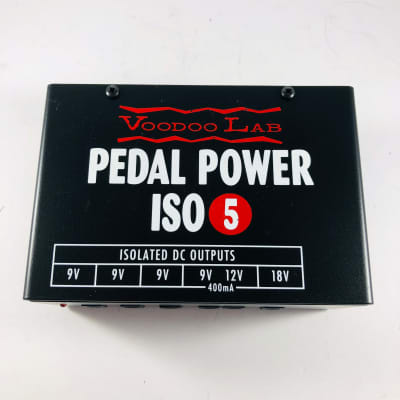 Voodoo Lab Pedal Power ISO 5 *Sustainably Shipped*