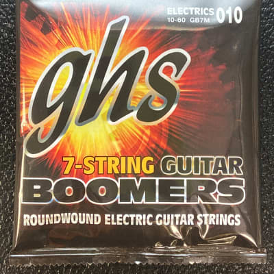 GHS GB7M Boomers Roundwound Electric Guitar Strings - Medium (10-60)