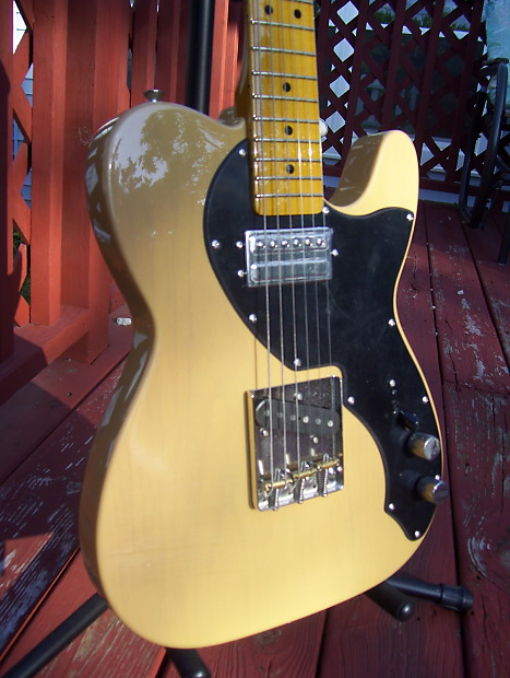 fender modern player short scale telecaster butterscotch reverb. Black Bedroom Furniture Sets. Home Design Ideas