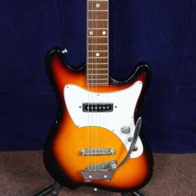 Audition Electric Guitar 1970s Sunburst for sale
