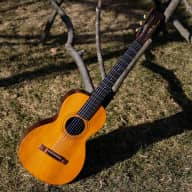 1890s Howe-Orme Cylinder-Top Parlor Guitar VERY Rare! for sale