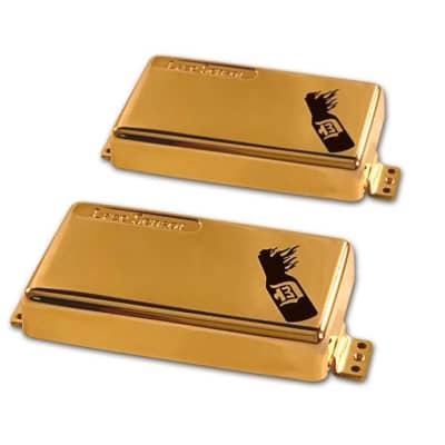 D3™ Signature D'Agitator™ Humbucker - Extreme Gold Plate - Full Set