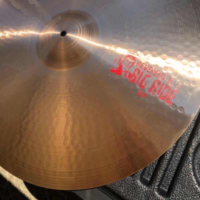 "Paiste 24"" 2002 Alex Van Halen Reverend Al's Big Ride Cymbal"