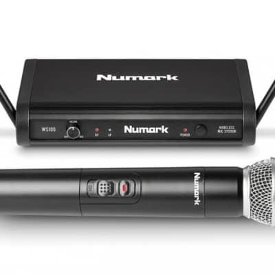 Numark Wireless Microphone System Frequency 902.9 w/200 Foot Range - WS1009029