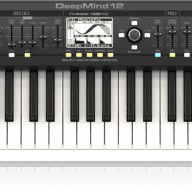 BEHRINGER DEEPMIND 12 POLYPHONIC SYNTHESIZER