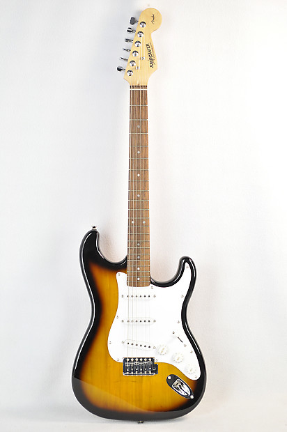 new fender starcaster stratocaster electric guitar sunburst reverb. Black Bedroom Furniture Sets. Home Design Ideas