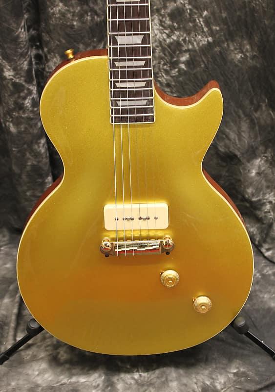 Cozart 54 Les Paul Style P90 Goldtop Electric Guitar