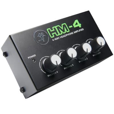 Mackie HM-4 4 Channel Headphone Amp - Return