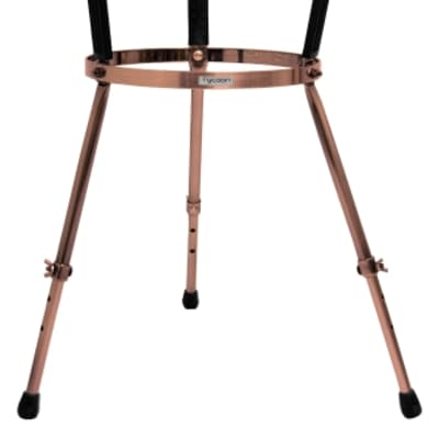 Tycoon Percussion Master Series Single Conga Stand Antique Copper Finish, MTCS-AC11