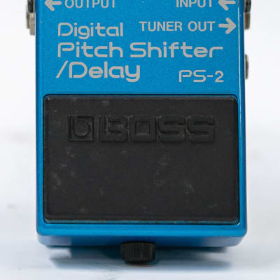 Boss PS-2 Digital Pitch Shifter Delay Guitar Effect Pedal - MIJ Blue Label