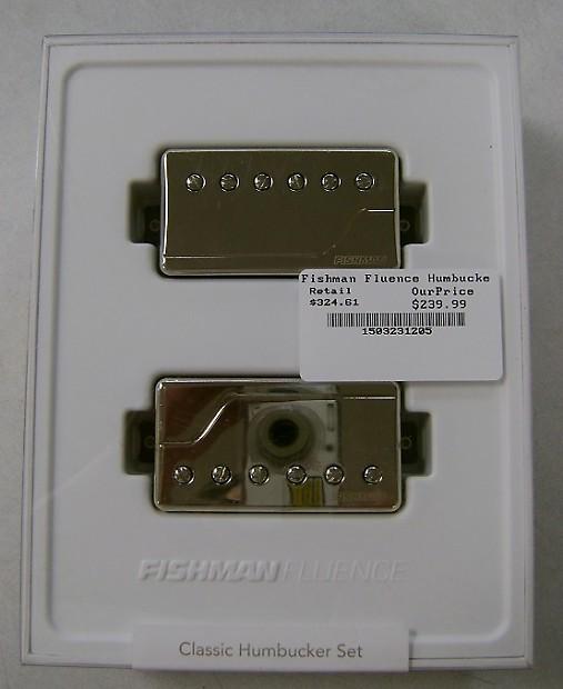 Super Fishman Fluence Classic Humbucker Set Nickel Reverb Wiring 101 Orsalhahutechinfo