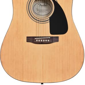 Fender FA-115 Acoustic Dreadnought Guitar Pack Natural for sale