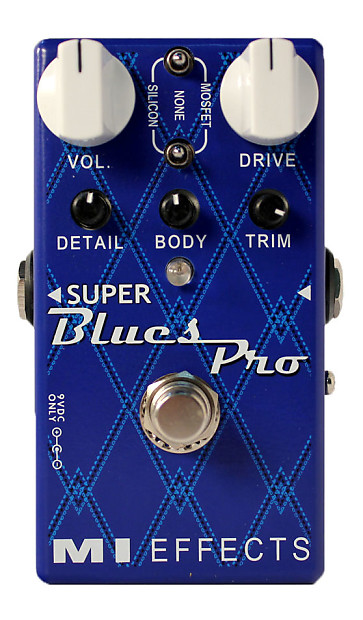 MI Effects Super Blues Pro, Brand New with Warranty! Free 2-3 Day Shipping  in the U S !