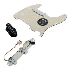 920D Custom Shop 11208-14+T3W-AWP Seymour Duncan Quarter Pounder Loaded Tele Pickguard w/ 3-Way Switching