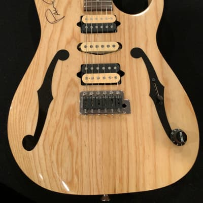 Ibanez Paul Gilbert Signature PGM 80P signed Natural for sale