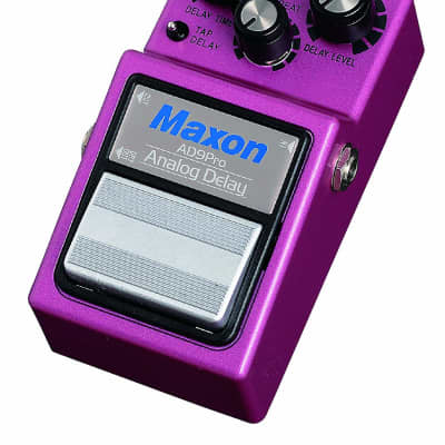 Maxon Nine Series AD9 Pro Analog Delay Pedal Japan Made NEW nos for sale