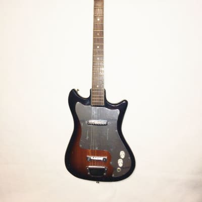 Vintage Made in Japan Palmer? Single Pick UP 60's Brown Burst for sale