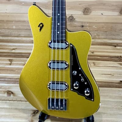 Duesenberg Triton Electric Bass Guitar - Gold Top for sale